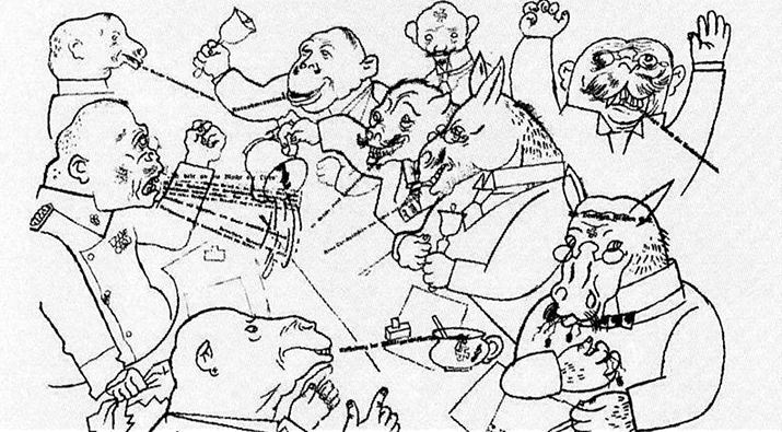 the-voice-of-the-people-george-grosz
