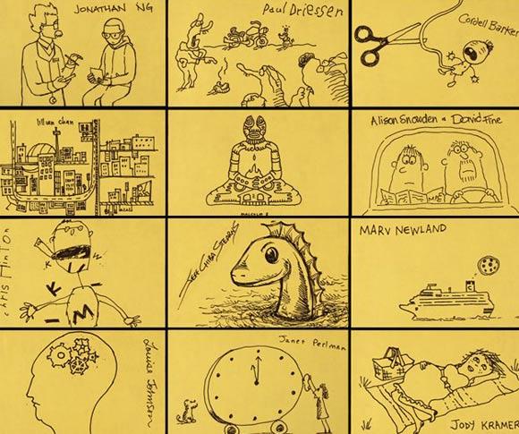 Yellow Sticky Notes by Canadian Anijam