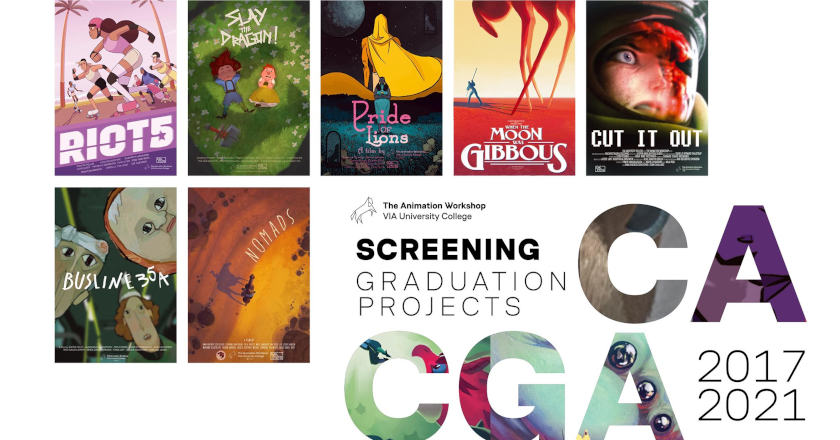 7 Graduation Films from The Animation Workshop 2021