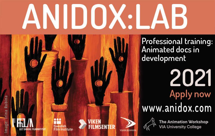 ANIDOX:LAB 2021: Call for entries