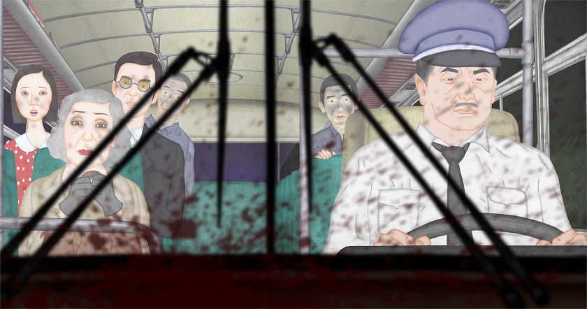 'Night Bus', 'The Nose or The Consipacy of Mavericks' in the Animafest Zagreb Winners