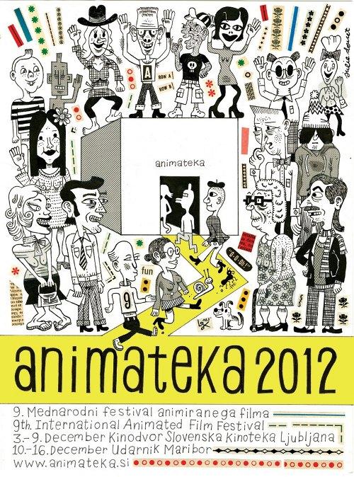Animateka 2012 poster